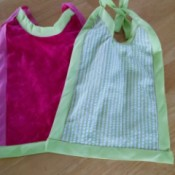 finished bibs