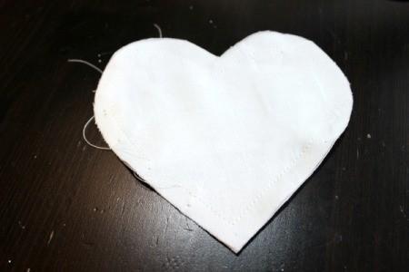 sewn insert