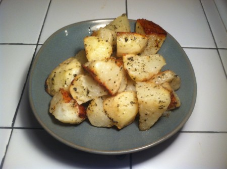 Oven Roasted Herbed Potatoes