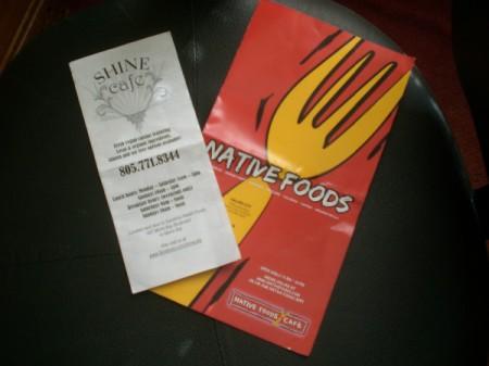 Keep Restaurant Menus for Meal Ideas