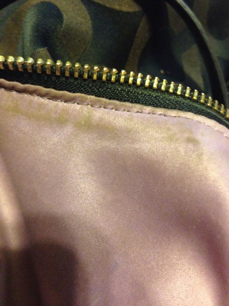 Removing Ink Stains from your Coach Purse