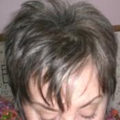 Glam up Gray Hair