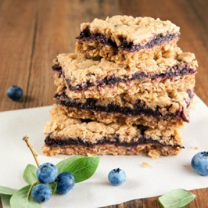Blueberry Fruit Bars
