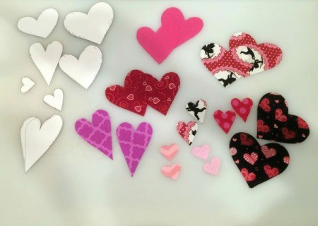 templates and hearts