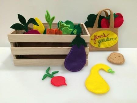 veggie garden and bag