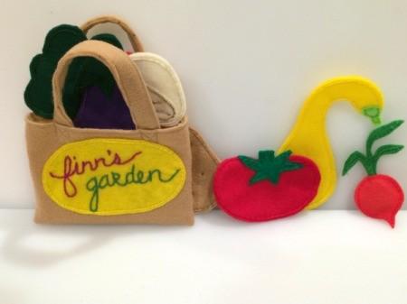 veggies and bag 3