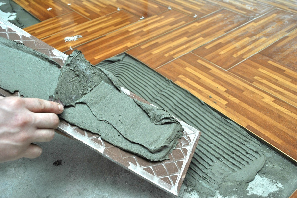 Removing Excess Adhesive From Floor