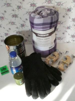 Car Frostbite Prevention Kit