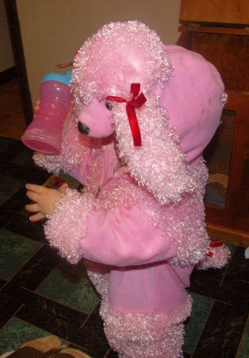 toddler poodle costume