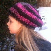 Child's Crocheted Beret