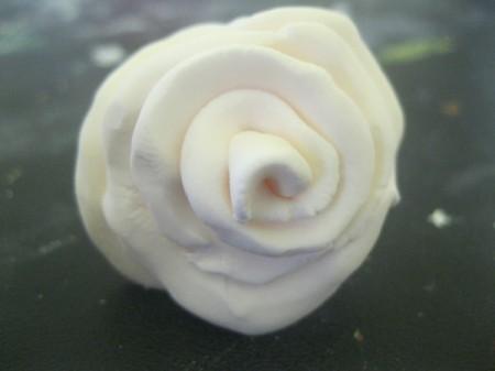 play dough rose