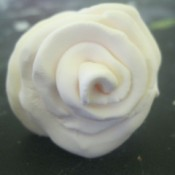 play dough rose