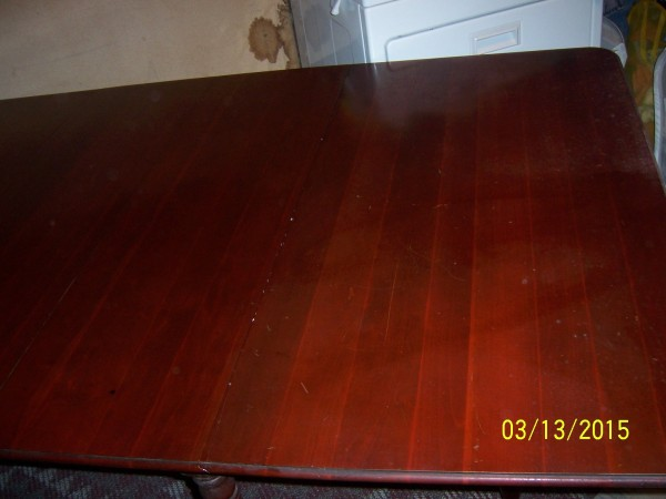 cherry table. Removing Mildew from Wood   ThriftyFun