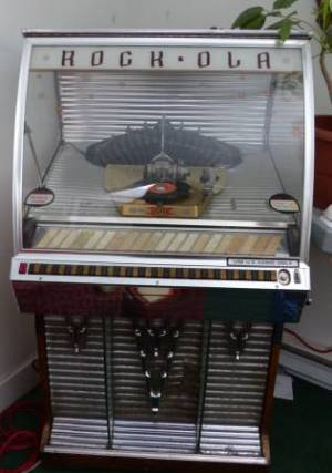 Rock Ola Jukebox