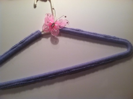 Crocheted Hangers