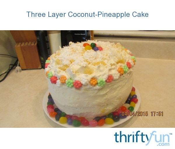 Coconut Cake With Coconut Pudding Mix