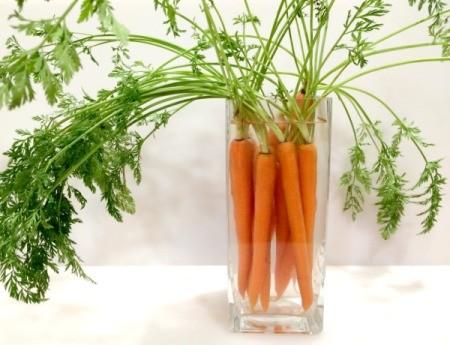 Carrot Bouquet Centerpiece
