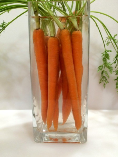 Carrot Bouquet Centerpiece
