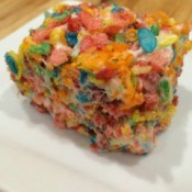 Fruity Pebbles Cereal Treats