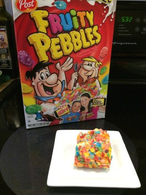 Fruity Pebbles Cereal Treats