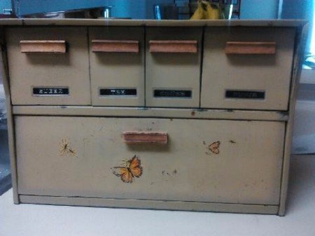 Refurbished Vintage Breadbox