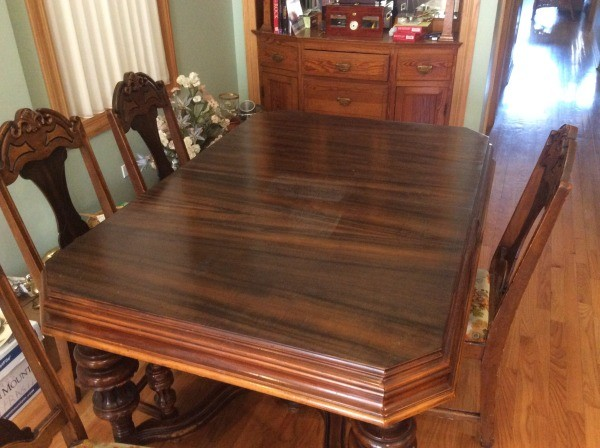 table and chair - Finding The Value For Your Antique Furniture ThriftyFun