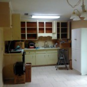 inclusive view of kitchen