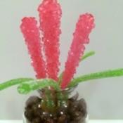 Rock Candy Flower Bouquet