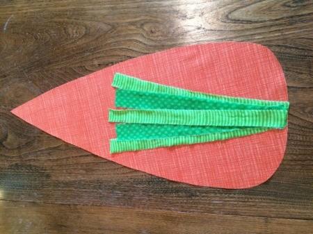 Mini Carrot Table Runner