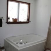 tub area