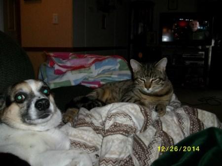 Daisy Coker and Beau