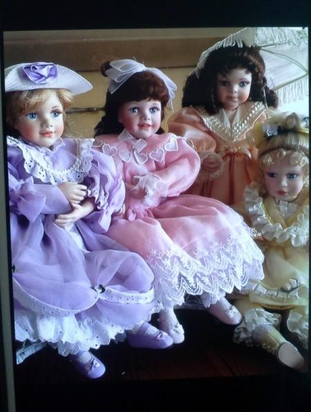 four dolls
