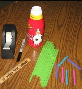 supplies for paper bats