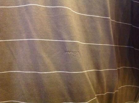 closeup of shirt