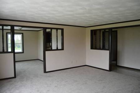 view of walls and trim