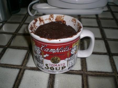 Five Minute Chocolate Mug Cake