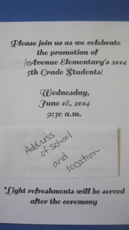 Graduation Invitation/Announcements