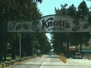 Visiting Knott's Berry Farm Marketplace