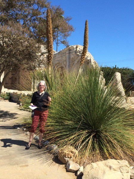 Visiting the San Juan Capistrano Mission