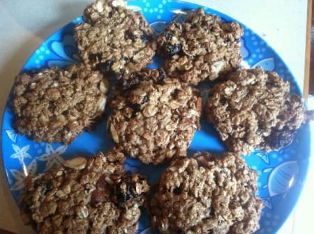 Healthy Breakfast Cookies - baked cookies