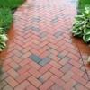 brick walkway with host