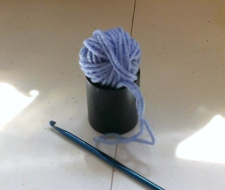 Fun Yarn and Spool Necklace
