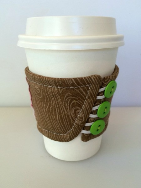 Fabric Coffee Sleeve