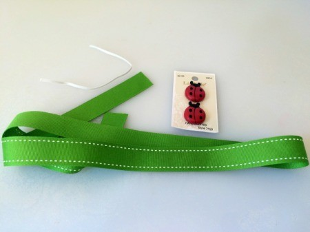 Adjustable Ribbon Bookmark