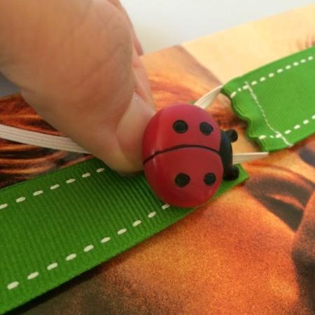 Adjustable Ribbon Bookmark