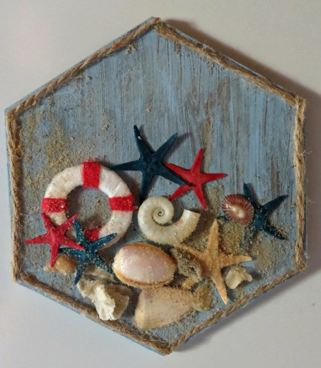 Nautical Themed Fridge Magnet