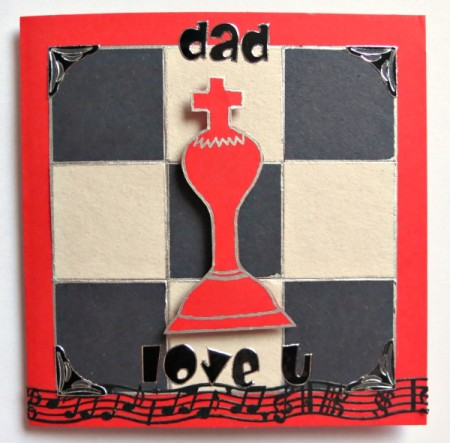 Checkmate Father's Day Card