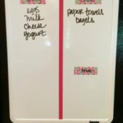 Paperless Grocery Shopping List