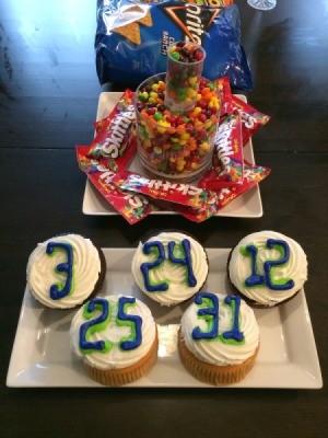 Seahawks Super Bowl Treats