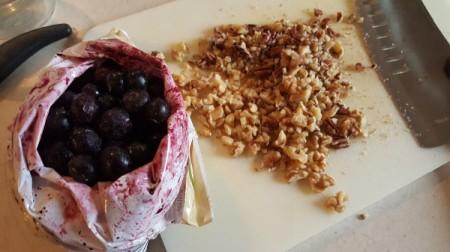 berries nuts oatmeal
